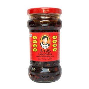 Lao Gan Ma Black Bean in Chili Oil - 280g
