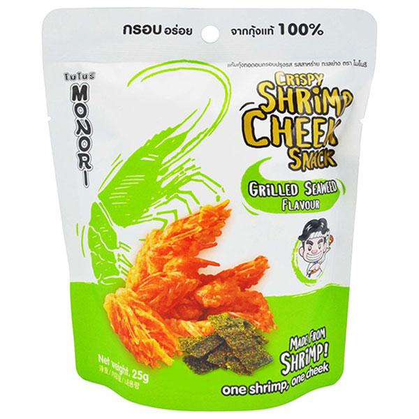 Monori Crispy Shrimp Cheek - Seaweed flavor - 25g