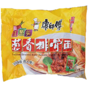 Scallion Braised Ribs Noodle With Shallot Flavor - 107g