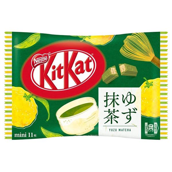 Kit-Kat Minis Yuzu Matcha - 127.6g