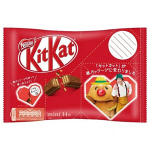 Kit-Kat Minis Heart Red Choco - 162.4g
