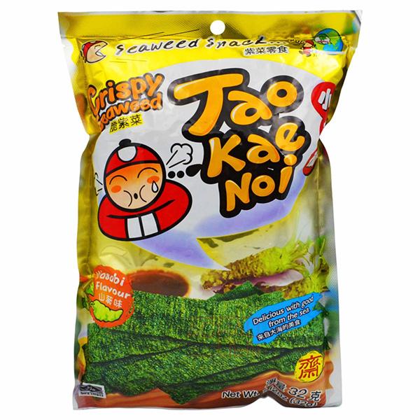 Crispy Seaweed Wasabi Flavor - 32g