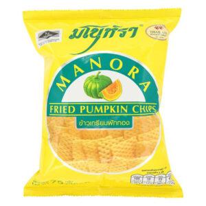 Manora Fried Pumpkin Chips - 75g