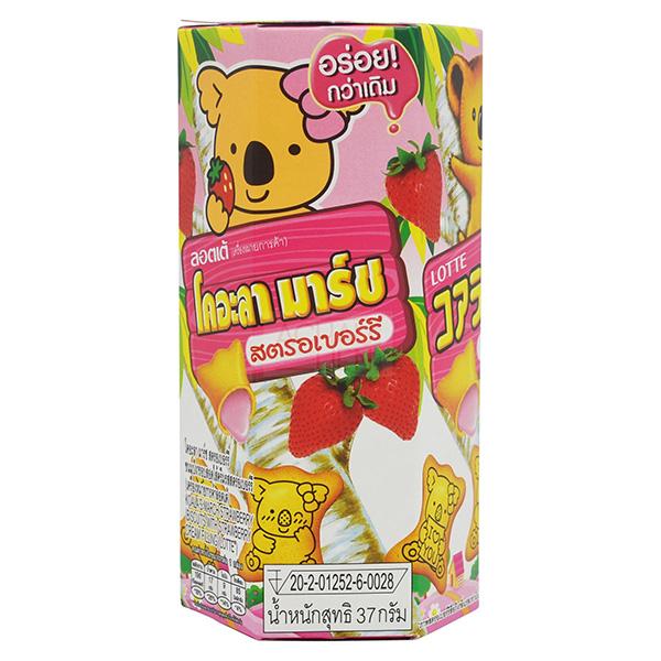 Lotte Koala's March Strawberry - 37g