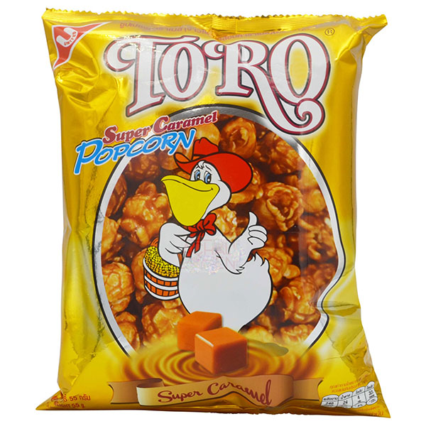 Toro Super Caramel Popcorn - 55g