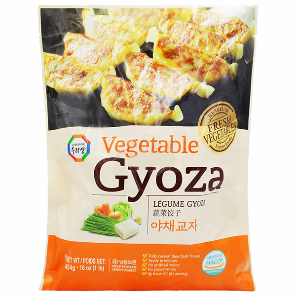 Vegetable Gyoza - 454g