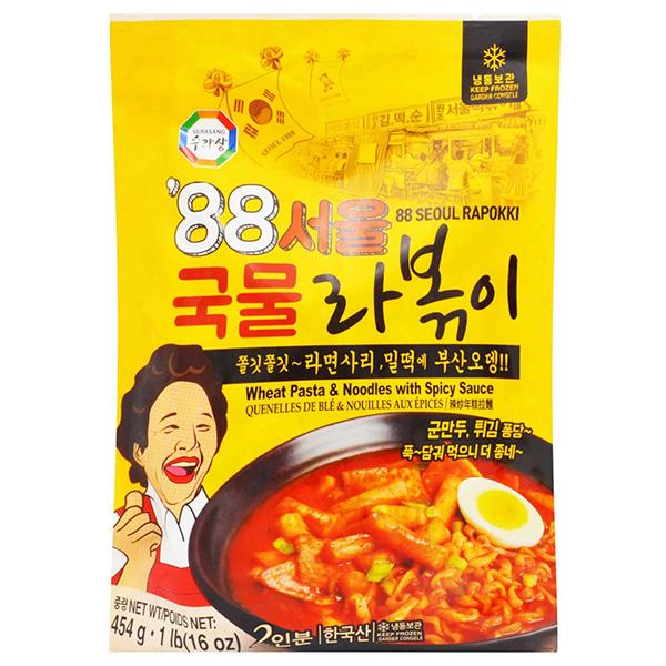 Wheat Pasta & Noodles w / Spicy Sauce - 454g