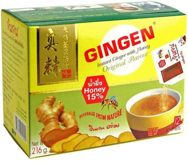 Instant Ginger Tea w/ Honey Original - 216g