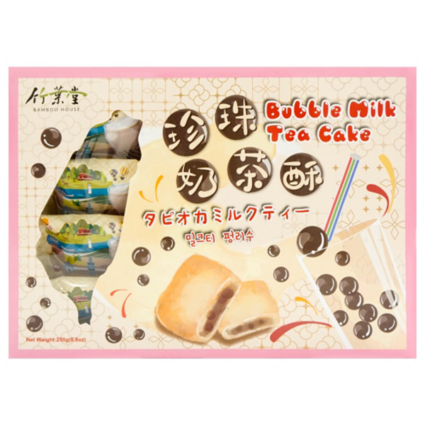 Bubble Milk Tea Cake - 240g