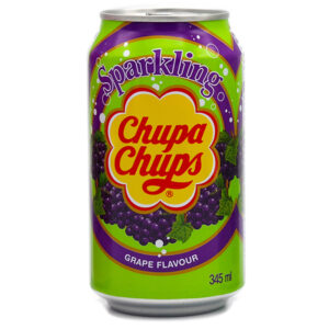 Chupa Chups Soda w/ Grape - 345mL