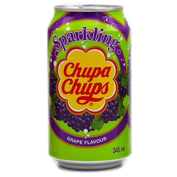 Chupa Chups Soda w/ Grape - 345mL