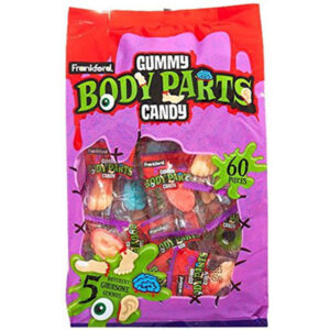 Gummy Body Parts Candy - 450g