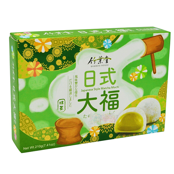 Japanese Style Green Tea Mochi - 210g