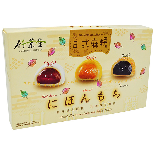 Japanese Style Mix Flavor Mochi - 450g