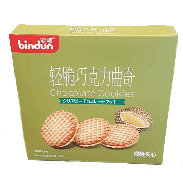Bindun Durian Cookies - 115g