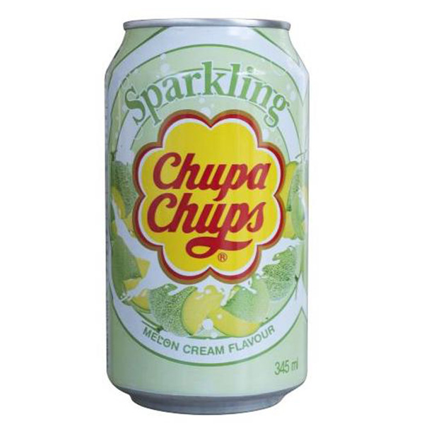 Chupa Chups Soda Melon Cream - 345mL
