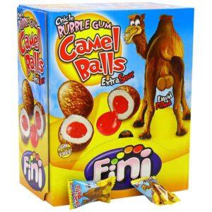Fini Bubble Gum Camel Balls - 5g