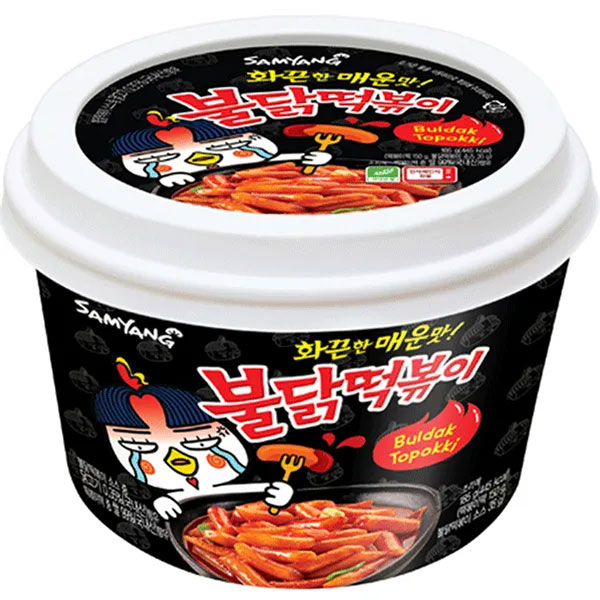 Hot Chicken Flavor Buldak Topokki - 185g