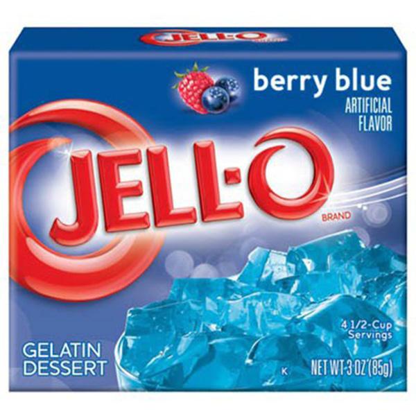 Jell-O Berry Blue - 85g