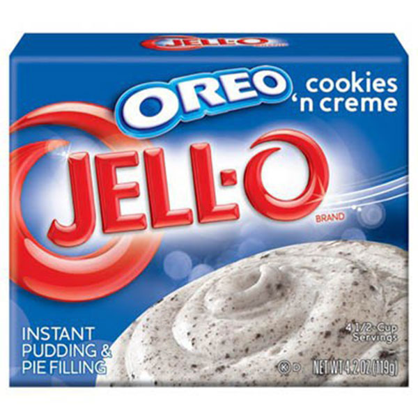 Jell-O Oreo Cookies-Creme Instant Pudding - 119g