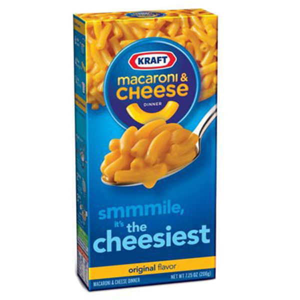 Kraft Macaroni Cheese Original - 206g