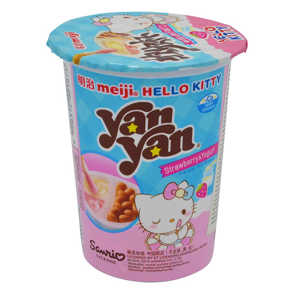 Meiji Jam Biscuit Strawberry & Yogurt - 150g