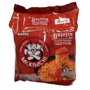 Mr.Kimchi - Kimchi Ramen - 4*115g