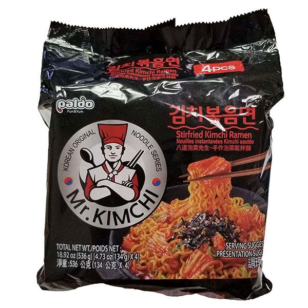 Mr.Kimchi Stir Fried Kimchi Ramen - 4*134g