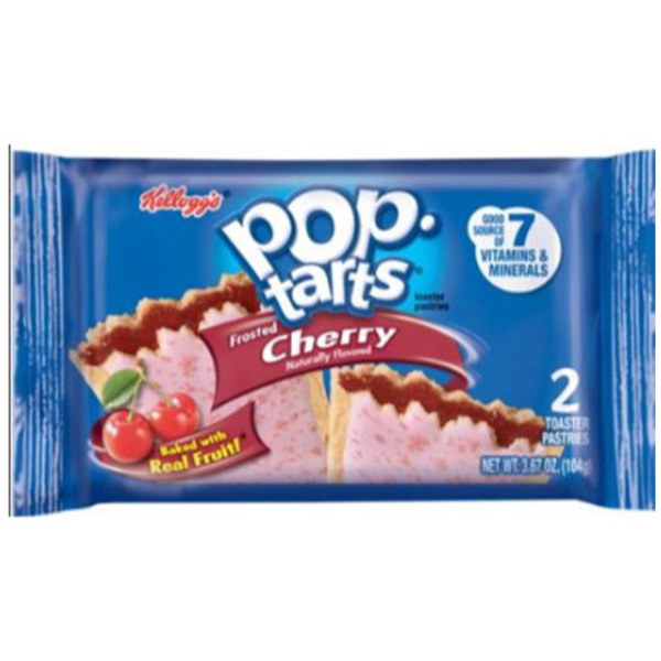 Pop Tarts Cherry - 2 Toaster Pastries - 104g