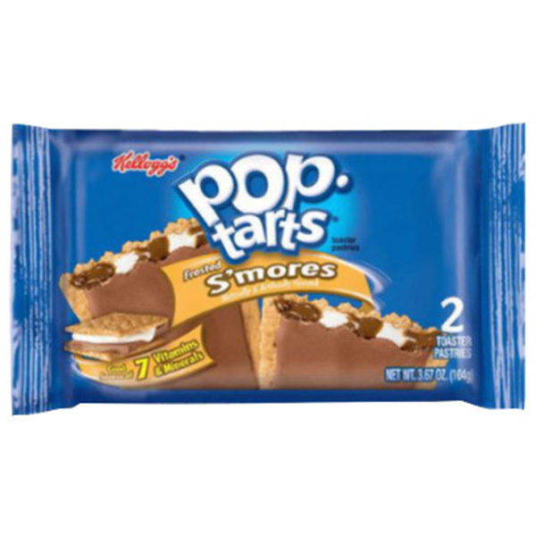 Pop Tarts Smores - 2 Toaster Pastries - 104g