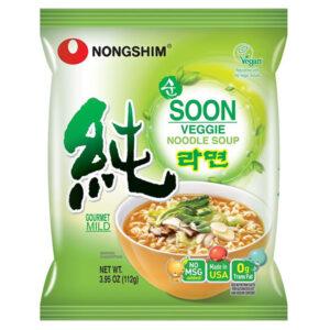 Nongshim Soon Veggie Noodle - 112g