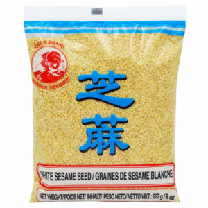 Cock Brand White Sesame Seed - 227g