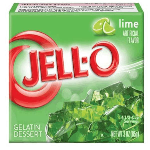 Jell-O Lime - 85g