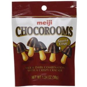 Meiji Chocorooms Milk & Dark - 38g
