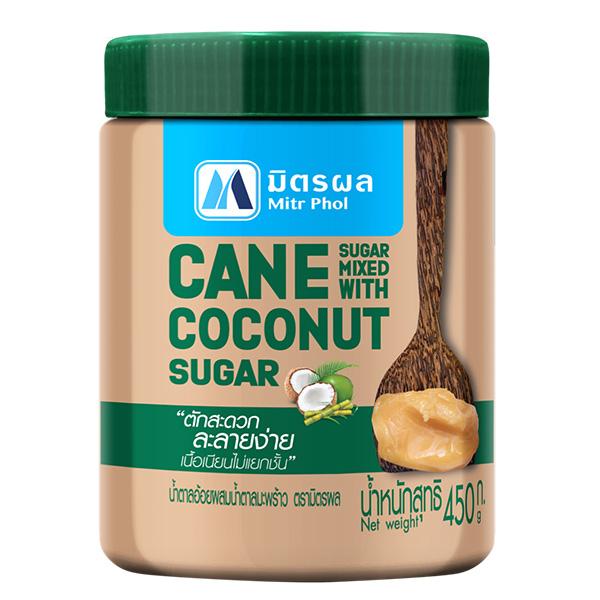 Mitr phol Cane Sugar Mixed w/ Coconut Sugar - 450g