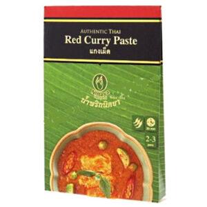 Nittaya Red Curry Paste - 50g