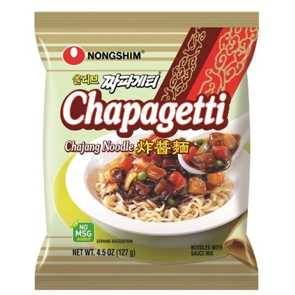 Nongshim Chapagetti Chajang Noodle - 140g