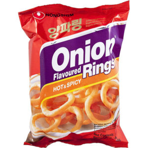 Nongshim Onion Flavored Rings Hot & Spicy - 40g