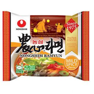 Nongshim Ramyun Noodle Mild Spicy - 85g