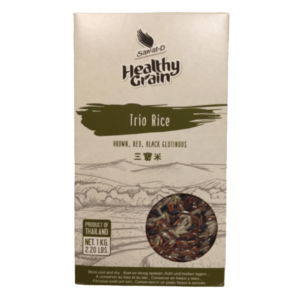 Sawat-D Healthy Grain Brown Red Black Rice Mix - 1kg