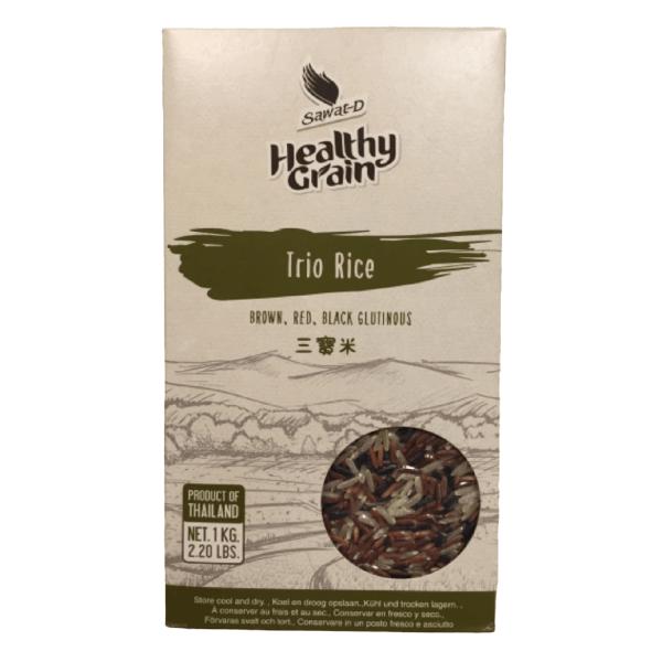 Sawat-D Healthy Grain Brown Red Black Rice Mix - 1kg