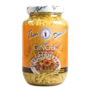 Thai Dancer Pickled Ginger Strips - 454g
