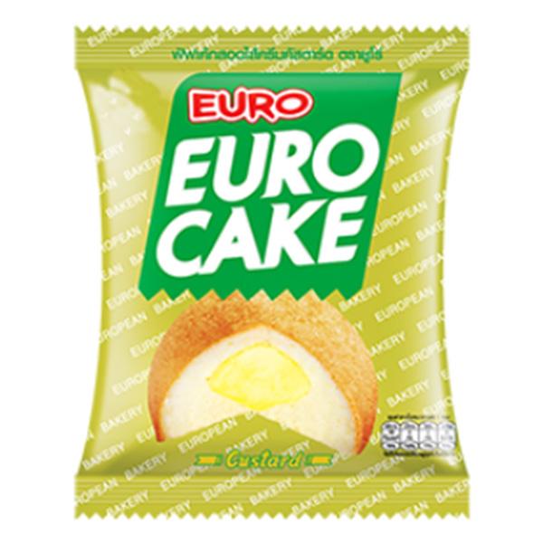 Euro Custard Cake - 204g 1