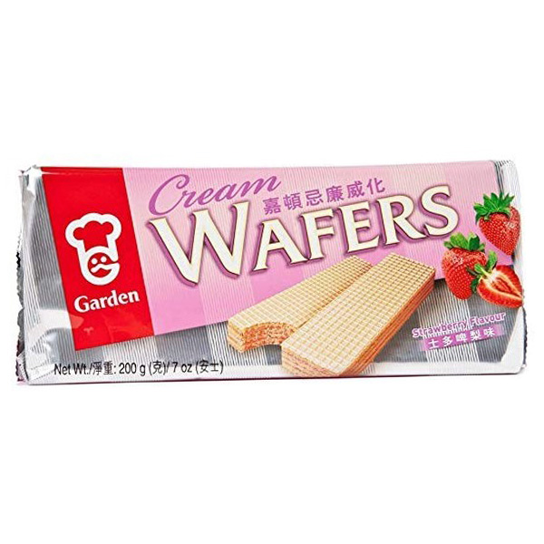 Garden Wafers Strawberry Flavored - 200g