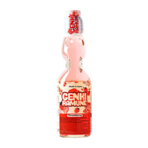 Genki Ramune Strawberry Drink - 200mL