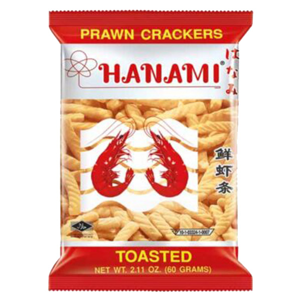 Hanami Prawn Cracker Original Flavor - 60g