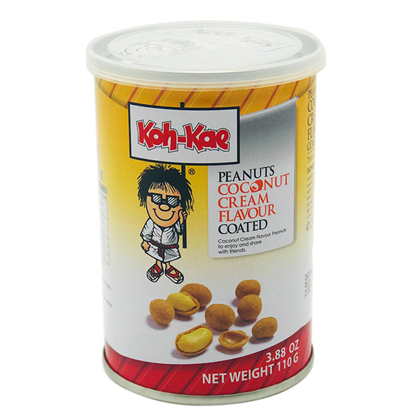 Koh-Kae Peanuts Coconut Cream Flavor Coated - 110g