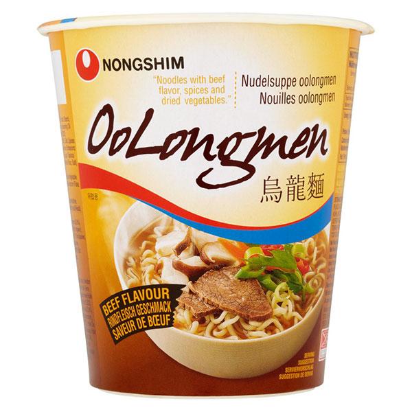 Nongshim Oolongmen Beef Flavor Cup - 75g