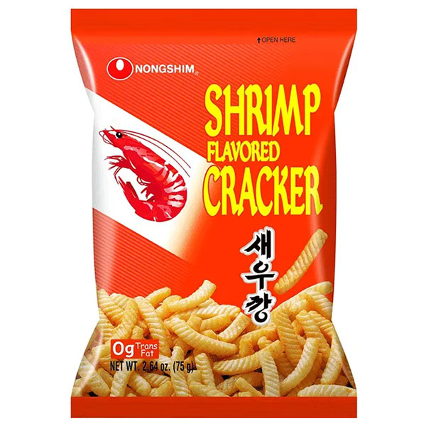Nongshim Shrimp Flavored Cracker - 75g