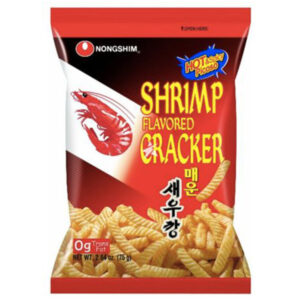 Nongshim Shrimp Flavored Cracker Hot & Spicy - 75g